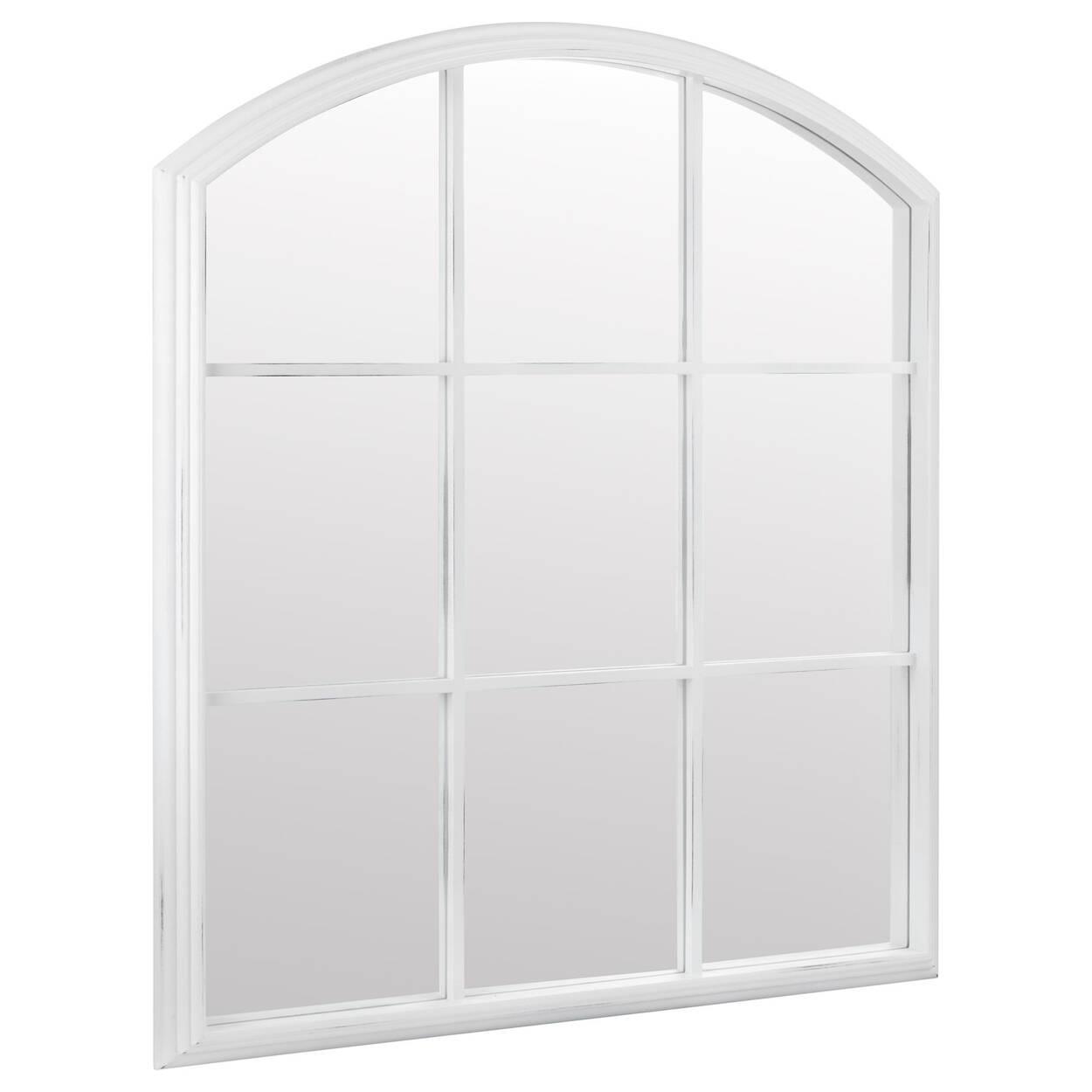 Miroir arqué style fenêtre
