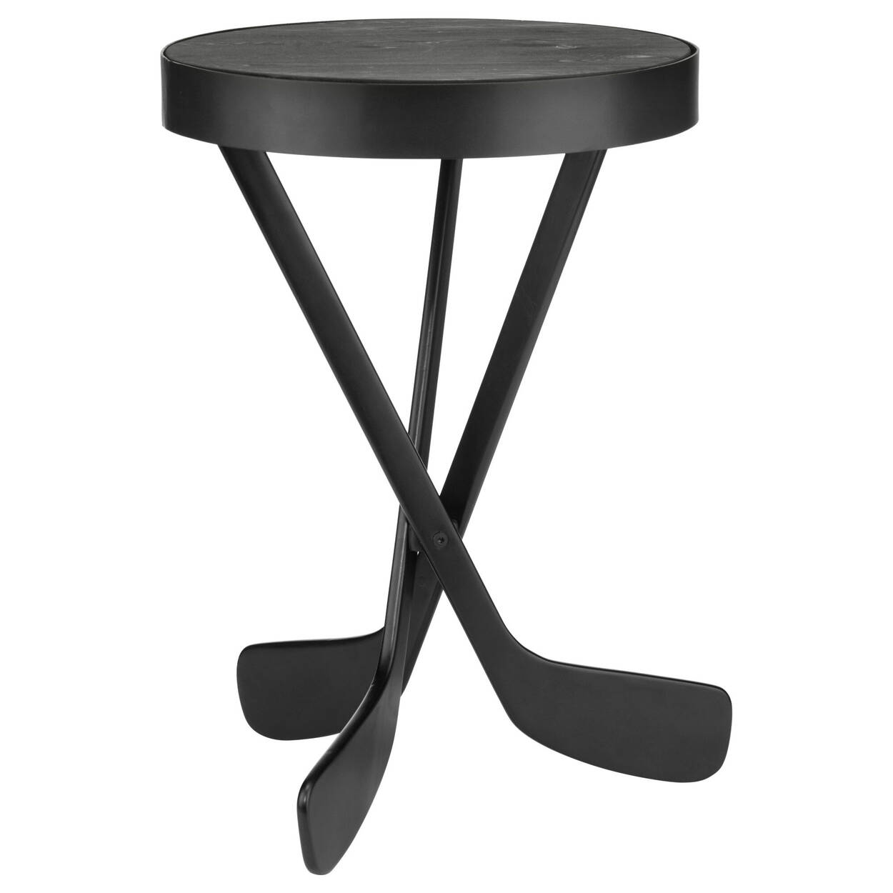 Hockey Sticks Side Table
