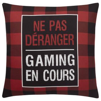 "Gamer Decorative Pillow 18"" x 18"""