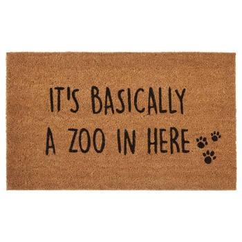 Zoo in there Doormat