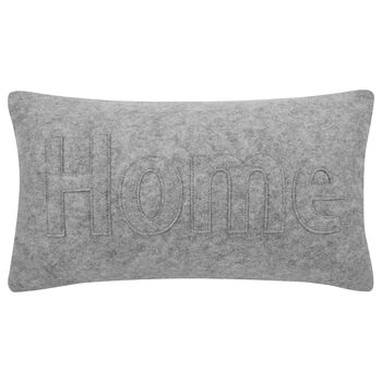 "Holden Embroidered Decorative Lumbar Pillow 11"" X 20"""