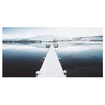 Icelandic Dock Printed Canvas