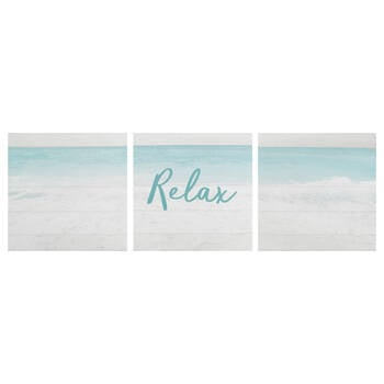 Set of 3 Relax Canvases