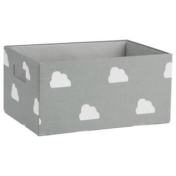 Medium Cloud Pattern Storage Basket
