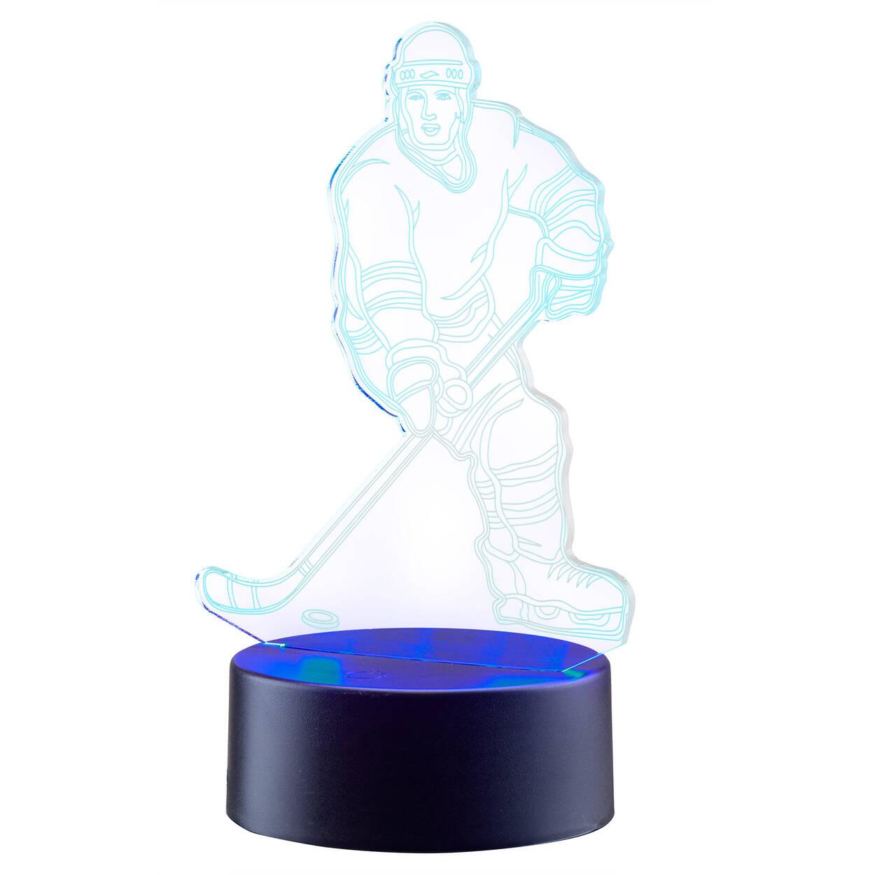 Lumière décorative hockey DEL