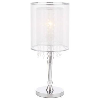 Ribbon and Droplet Table Lamp