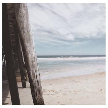 Beach View Printed Canvas