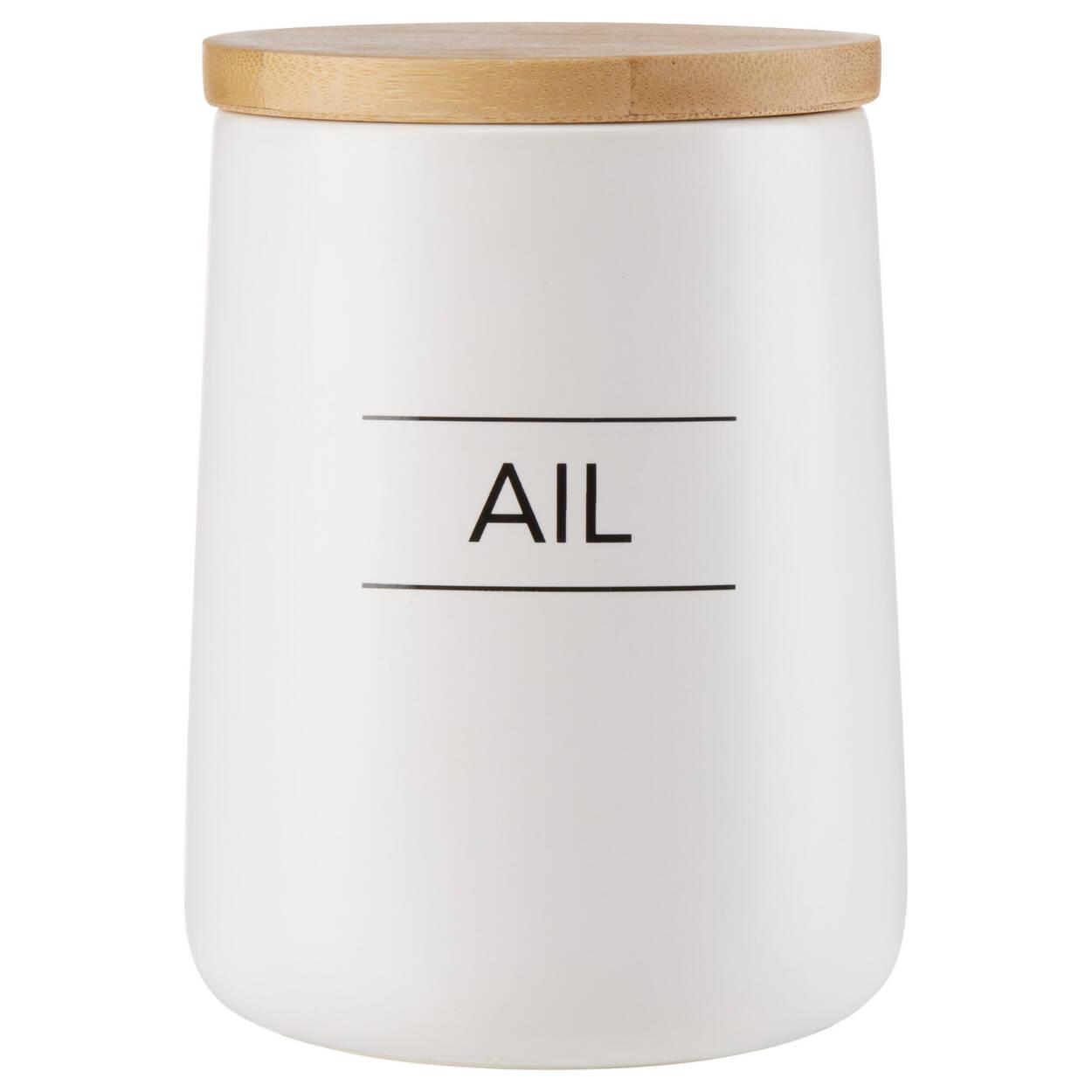 Ceramic Garlic Container