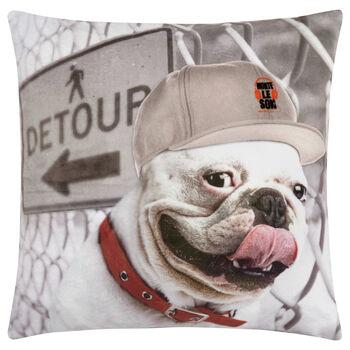 "Rap Dog Decorative Pillow 18"" X 18"""