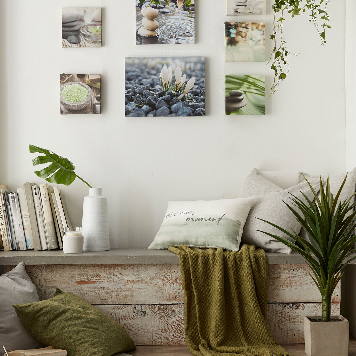 """Naturo Lumbar Decorative Pillow 13"""" X 20"""""""