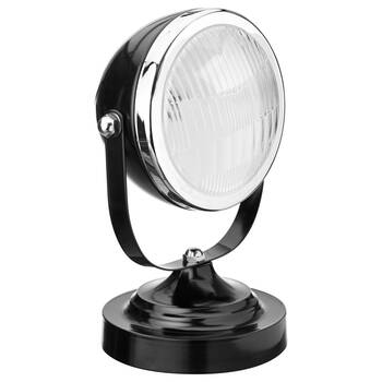 Metal Car Headlight Table Lamp