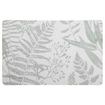 Wooden Foliage Placemat