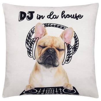 "DJ Decorative Pillow 18"" X 18"""