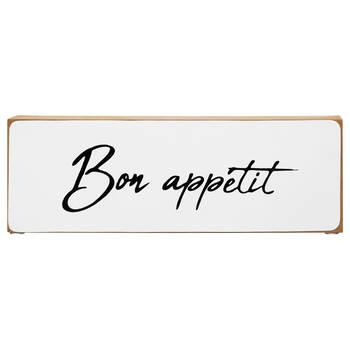 Decorative Block Bon Appétit