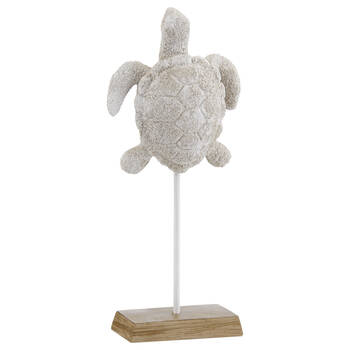 Decorative Resin Turtle on Stand