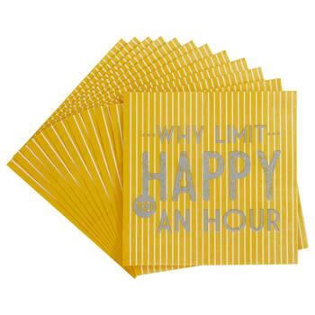 Pack of 20 Limit Paper Napkins