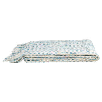 "Boho Knit Throw with Tassels 50"" X 60"""