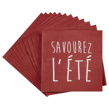 Set of 20 Savourez Table Napkins