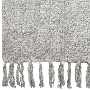 "Edie Mixed Yarn Throw 50"" X 60"""