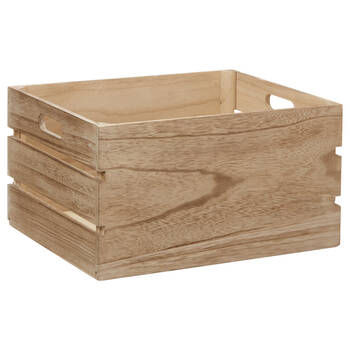 Natural Wood Crate