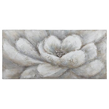 Floral Oil Painted Canvas