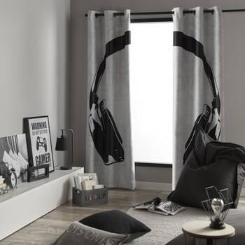 Headphone Panel Curtain