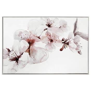 Soft Blossom Gel Embellished Framed Art