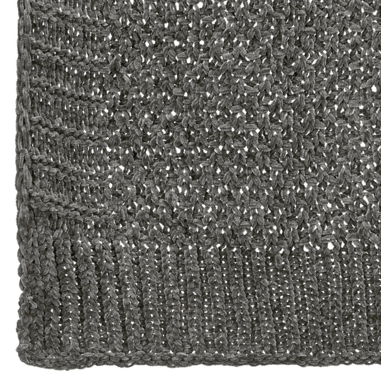 "Chenille Knit Throw 50"" X 60"""