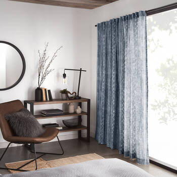 Lykke Printed Sheer Curtain