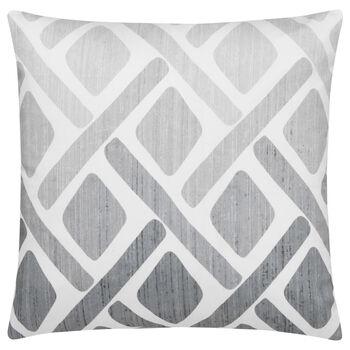 """Geo Water-Repellent Decorative Pillow 18"""" X 18"""""""