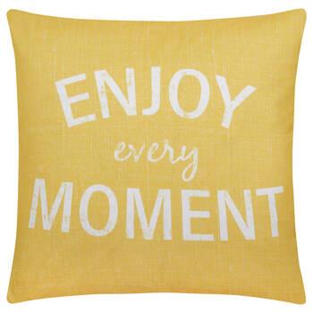 "Enjoy Water-Repellent Decorative Pillow 18"" X 18"""