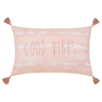 """Nereida Good Vibes Decorative Lumbar Pillow 14"""" X 22"""""""
