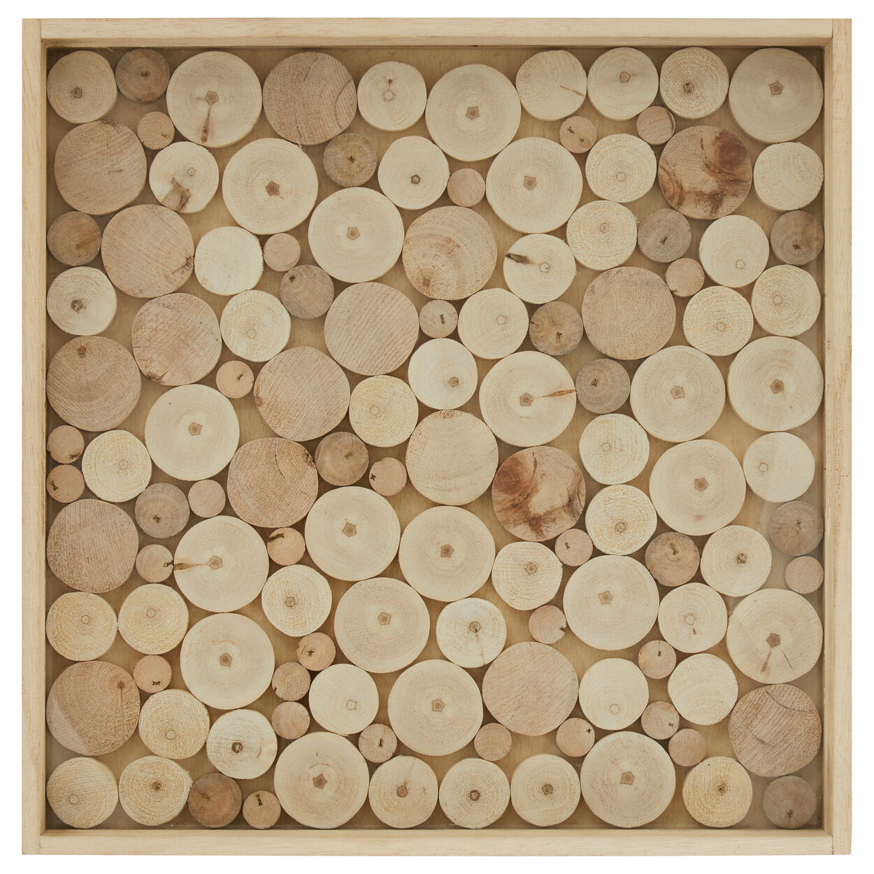 Small Wood Slices Serving Tray