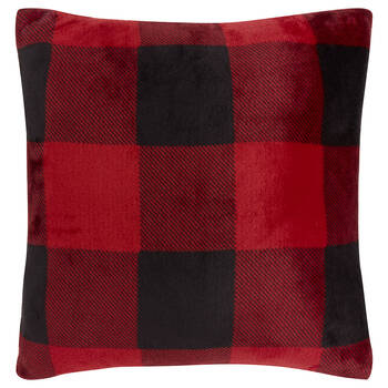 "Buffalo Plaid Decorative Pillow 18"" X 18"""