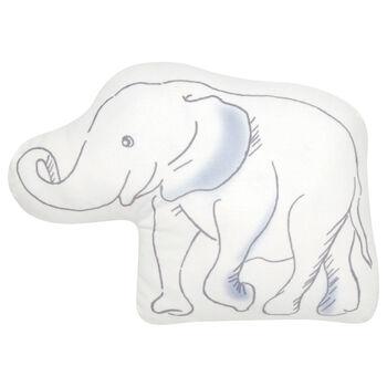 """Manny Elephant Decorative Pillow 11"""" X 15"""""""
