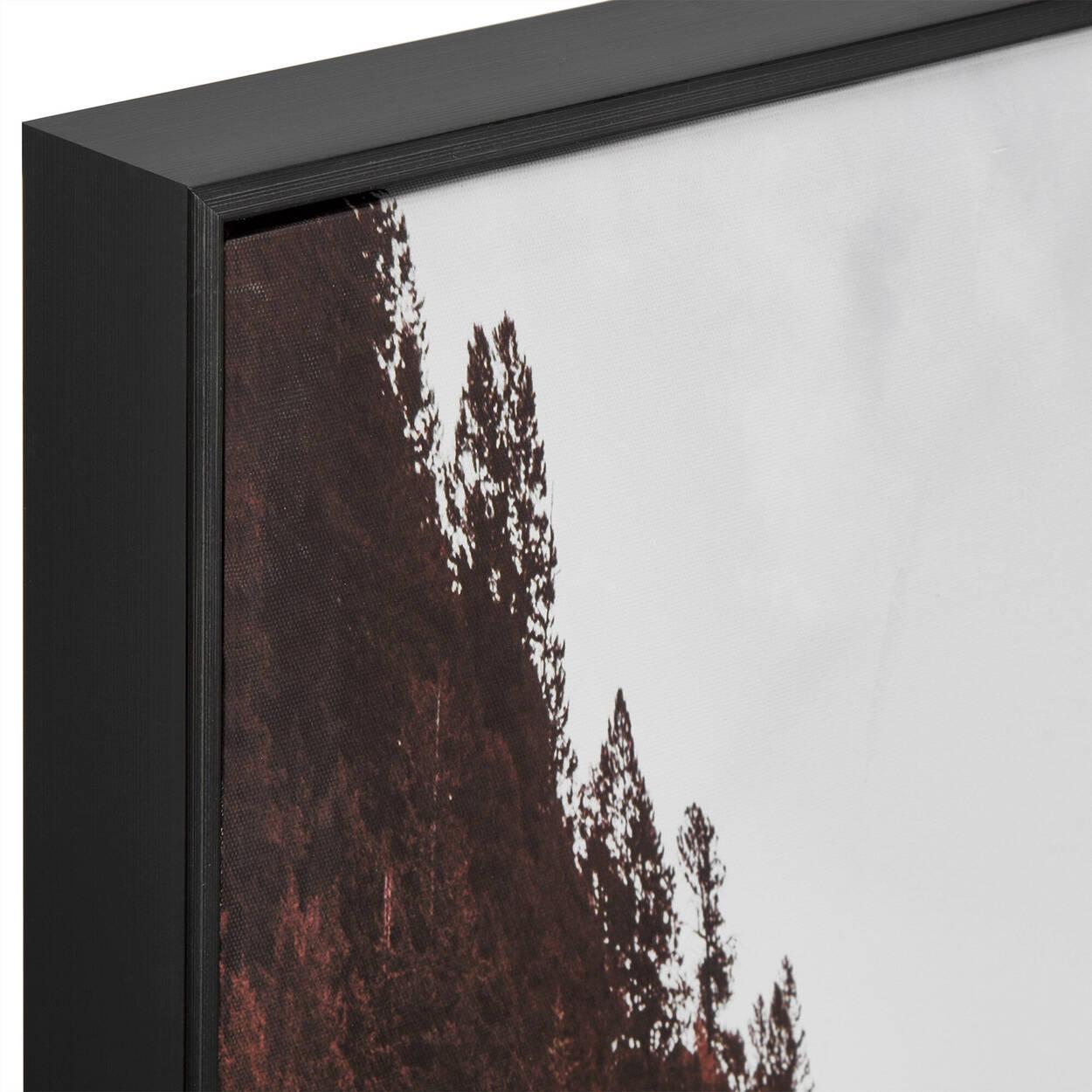 Tableau imprimé paysage montagne automnale