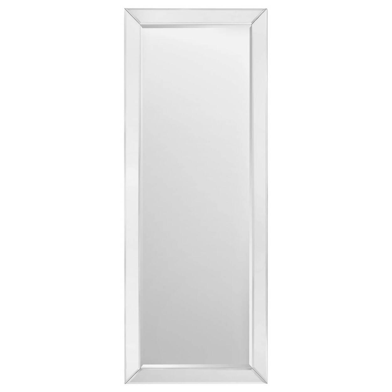Miroir avec cadre miroir for Miroir bouclair