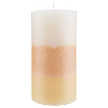 Three-Toned Pillar Candle
