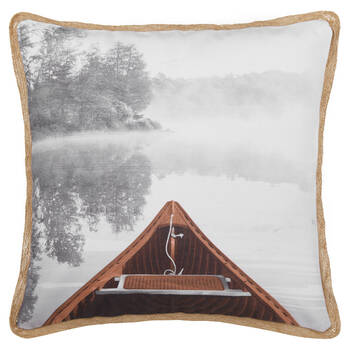 "Calm Lake Decorative Pillow 19"" X 19"""