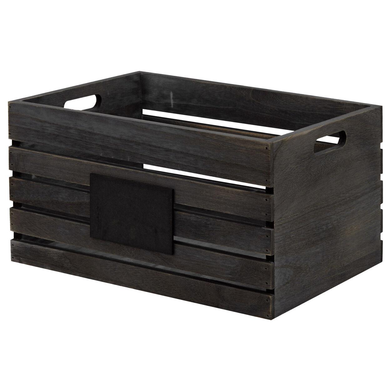 Medium Blackboard Wooden Crate