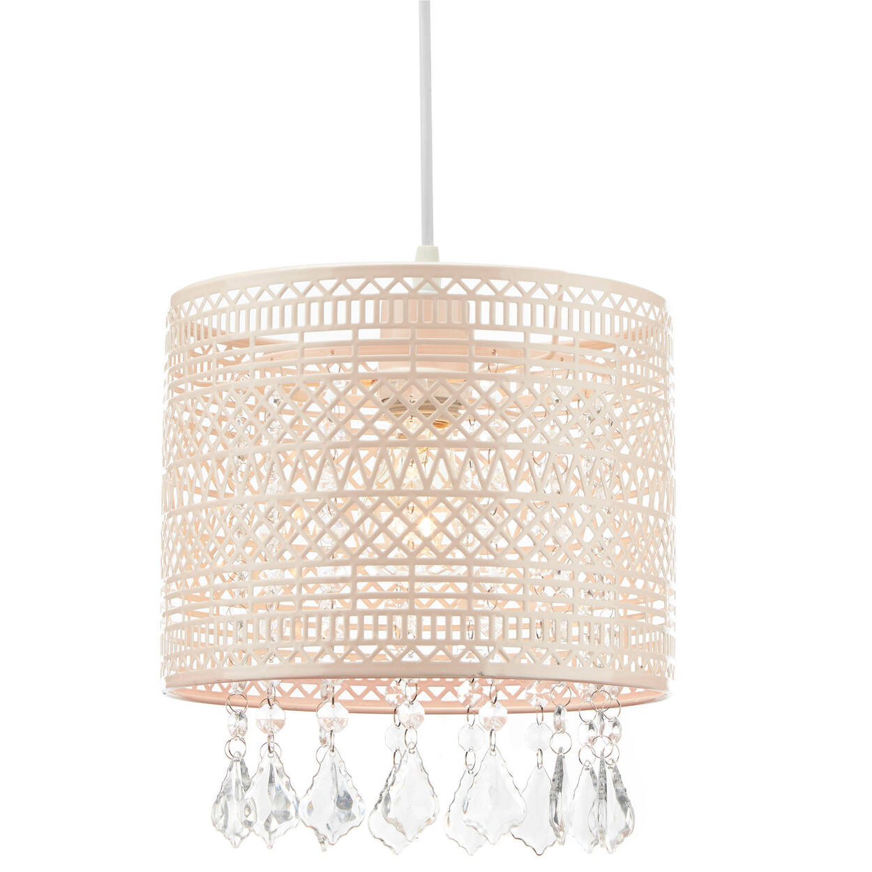 Cut-Out Ceiling Lamp with Decorative Droplets | Bouclair.com
