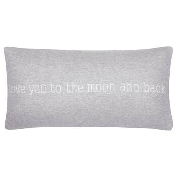 "Love You Decorative Lumbar Pillow 12"" X 24"""