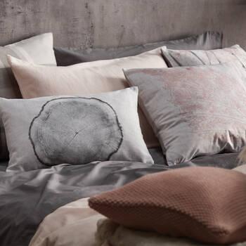 "Pink Birches Decorative Pillow 19"" X 19"""