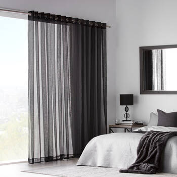 Gusta Embroidered Curtain