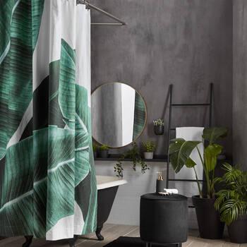 Banana Leaves Shower Curtain