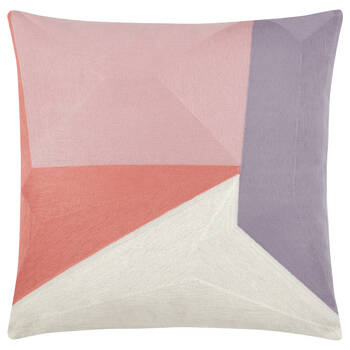 "Geometric Decorative Pillow 18"" x 18"""