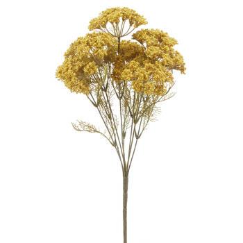Bouquet artificiel anis jaune