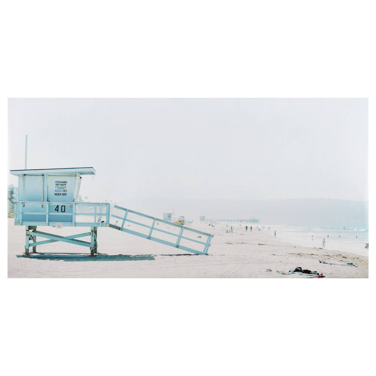 Lifeguard on Duty Printed Canvas