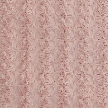 "Rose Faux Fur Throw 50"" X 60"""