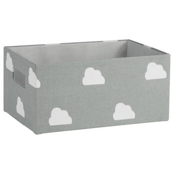 Small Cloud Pattern Storage Basket